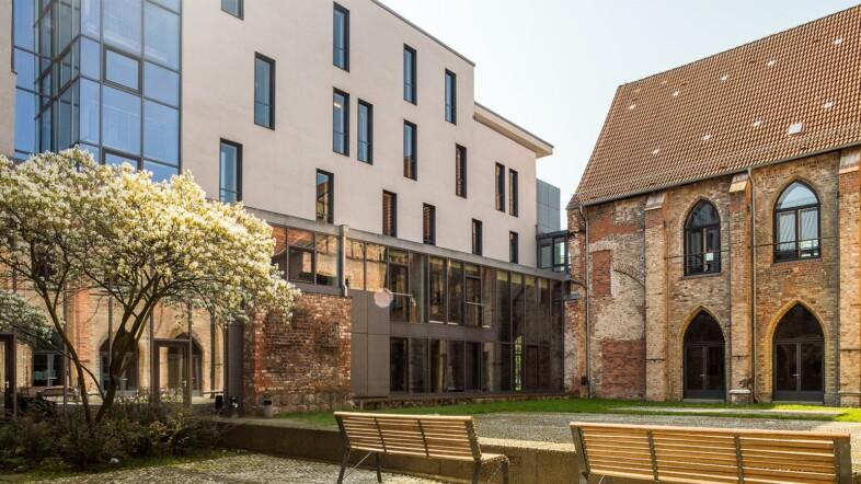 Außenansicht Hochschule für Musik und Theater Rostock