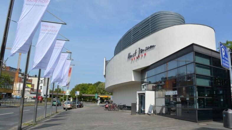 Horst-Janssen-Museum in der Außenansicht.