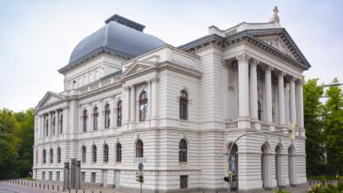 Oldenburgisches Staatstheater in der Außenansicht.