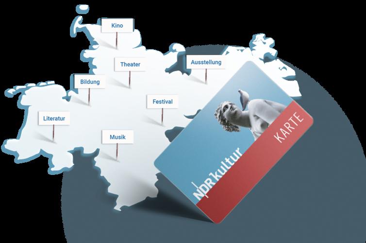 Mit der NDR Kultur Karte profitieren