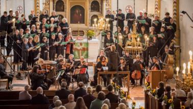 Foto eines Konzert des Schöneberger Musiksommers 2017 in einer Kirche