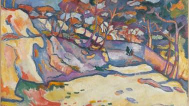 Foto eines Kunstwerkes von Georges Braque
