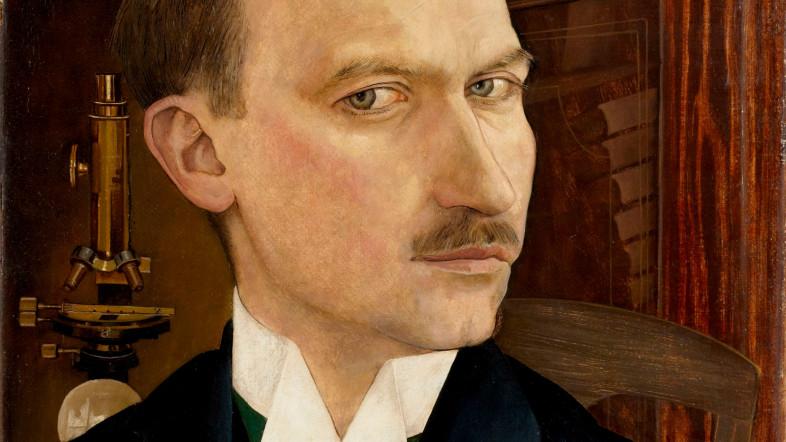 Gemälde des Künstlers Albert Aereboe.