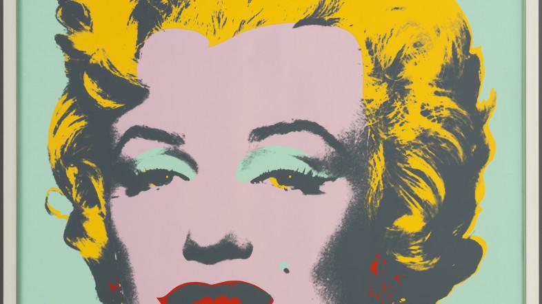 Pop Art Bild von Marilyn Monroe.