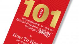 Programmheft Internationale Händel-Festspiele Göttingen